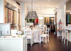 San Francisco Showroom - La Tavola Fine Linen