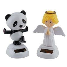 Mstechcorp Solar Swinging Panda, Angel Set Kids Toys For Cars, Novelty, Birthday Gifts >>> For more information, visit