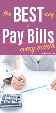 Personal Finance Discover The Best Way to Pay Bills Every Month Are you struggling to keep track of your bills? Wanna know the best way to pay bills each month? Check out these 6 simple steps to track and pay your bills! Planning Budget, Budget Planner, Budgeting Finances, Budgeting Tips, Faire Son Budget, Mad Money, Making A Budget, Monthly Budget, Monthly Expenses