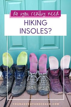 The best hiking insoles will give you the support you need for your boots, and should keep your feet comfortable while preventing the irritation of blisters. To get the most out of your hiking boots, you need the right insoles! These are the add-ons that get the most use (and wear) out of your boots.
