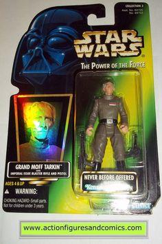 star wars action figures GRAND MOFF TARKIN power of the force 1997 hasbro toys moc mip mib