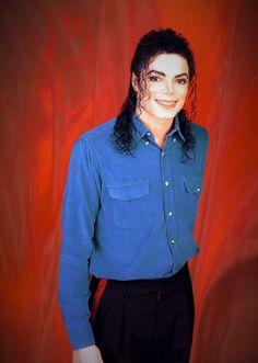 MJ in blue