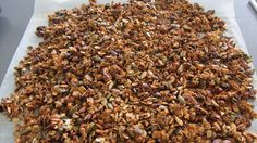 Hjemmelavet müsli Muesli, Granola, How To Dry Basil, Squash, Smoothies, Bacon, Food And Drink, Herbs, Dessert