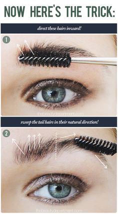 How to make your brows look really good using a brow gel