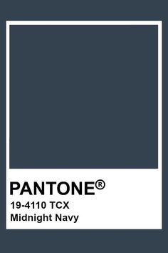 Pantone is your color partner for design, offering tools for color savvy industries from print to apparel to packaging. Pantone Navy, Pantone Tcx, Pantone Swatches, Color Swatches, Pantone Colour Palettes, Pantone Color, Colour Pallette, Colour Schemes, Colour Board