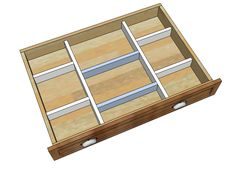 Ana White | Build a Wood Drawer Organizers | Free and Easy DIY Project and Furniture Plans