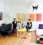 . Copenhagen Apartment, Nordic Chic, Hearth, Toddler Bed, Colours, Apartments, House, Furniture, Palette