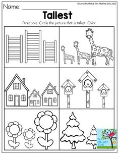 Preschool worksheets help your little one develop early learning skills. Try our preschool worksheets to help your child learn about shapes, numbers, and more. Printable Preschool Worksheets, Kindergarten Math Worksheets, Preschool Learning Activities, Preschool Curriculum, Free Preschool, Preschool Lessons, Preschool Kindergarten, Preschool Activities, Preschool Homework