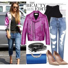 Celebrity Street Style, created by whowhatwearing on Polyvore