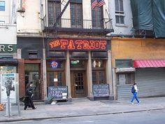 The Patriot Saloon, Tribeca, NYC