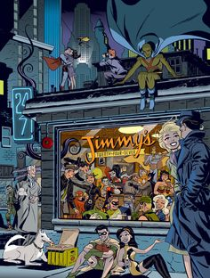 Darwyn Cooke dies at 53; Eisner Award-winning comic artist and writer