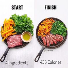 Start to finish 🔥 Would you eat? Recipe below 👇🏼 — 4 ingredients which make life healthy and easy. Healthy Eating Recipes, Healthy Meal Prep, Diet Recipes, Healthy Snacks, Cooking Recipes, Good Food, Yummy Food, Meal Planning, Clean Eating