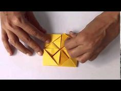 Ornamental Box | English | Exquisite Origami Box - YouTube