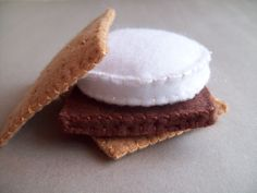 Smore and Marshmallow on a Stick combo felt food play set. $15.00... pricey. Ill make mine