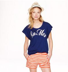 Cute summer outfit by J Crew