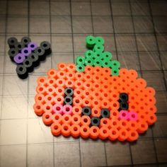 Halloween perler beads by psycat_1