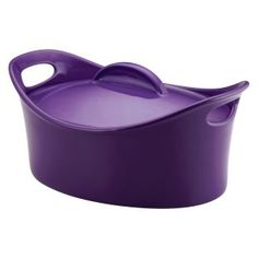 rachael ray dishes and cookware | Rachael Ray Casseroval Stoneware 4.25 qt. Covered Oval Casserole ...
