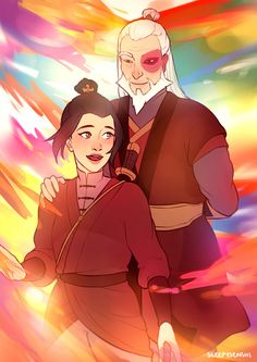 Zuko and... Young Azula? Anyway, it's a lovely sentiment and picture.