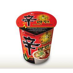 [Nongshim] Shin Cup Noodle Soup 75g 농심 신컵라면  #신컵 #농심 #신라면 #shinramyun #shinramen #ramyun #ramen #cup #noodle #spicy #korean #grocery #hanyang #online #shopping