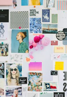 Love a great moodboard. Wish I could be surrounded by this all day ...