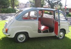 Learn more about BaT Exclusive: Restored 1963 Fiat Multipla on Bring a Trailer, the home of the best vintage and classic cars online. Fiat 500, Bomber Seats, Fiat Abarth, Van For Sale, Steyr, Small Cars, Classic Cars Online, Dream Garage, Old Cars