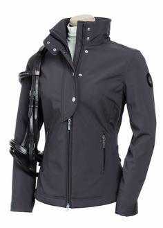 Embellished with a large front wind flap with snaps, high necked featuring and…