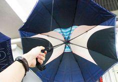 Gadget WTF du jour – Des parapluies japonais pour voir sous les jupes des filles