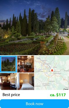 Art Hotel Villa Agape (Florence, Italy) – Book this hotel at the cheapest price on sefibo.
