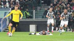Juventus Turyn vs Borussia Dortmund • Giorgio Chiellini popełnił błąd przy golu Marco Reusa • UEFA Champions League • Zobacz poślizg >>