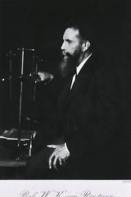 The man that started it all, Wilhelm Conrad Röntgen. He received a nobel prize for his discovery of the X-Ray