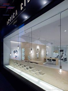 Where To Buy Glass Shelves Fashion Retail Interior, Optometry Office, Jewelry Store Design, Eyewear Shop, Shop Facade, Optical Shop, Store Windows, Showroom Design, Shop Interiors