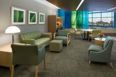 Gundersen Health System is an integrated healthcare organization serving 19 counties in western Wisconsin. KI provided innovative healthcare furniture, including Soltice Lounge and Guest Seating.