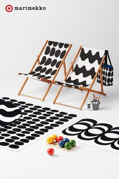 Marimekko for Target Oversized Beach Towel - Koppelo Print - Black