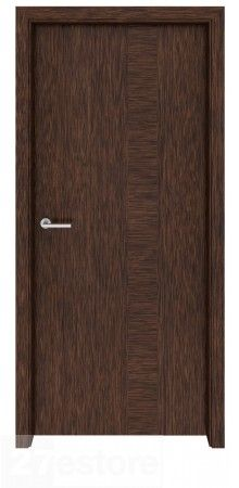 Looking for a door that blends in with the scenery? This interior door in dark walnut veneer will do the trick. It features a plain design on both sides and a grain that runs vertically throughout. Dark walnut is a great choice for an interior door. Door Design Interior, Interior Doors, Richmond Interiors, Walnut Doors, Veneer Door, Window Grill, Flush Doors, Cool Doors, Modern Door