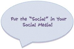 Do people feel like they're truly socializing with real people on your social pages?