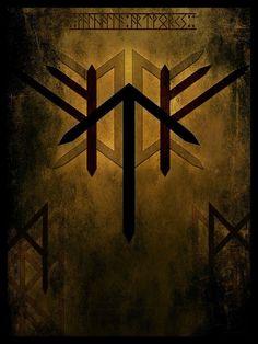 The Hall of Heorot Ancient Runes, Norse Runes, Norse Pagan, Viking Symbols, Rune Symbols, Norse Mythology, Rune Tattoo, Norse Tattoo, Viking Tattoos