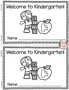 KINDERGARTEN Comprehension and fluency - Back to School activities - predictable text and story structure - comprehension questions #kindergartenwriting #kindergarten #kindergartenreading