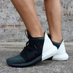 hot sales ad1bc ad3f6 NEW IN  Up close and personal with the adidas Originals Tubular Defiant  Sneaker. Because