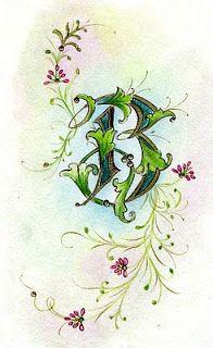 Ink Flourishes: Pergamenata B