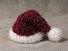 free crochet santa hat pattern