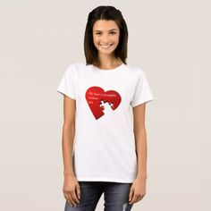 Heart Puzzle Shirt - love gifts cyo personalize diy