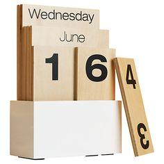 Buy Design Ideas Shuffle Calendar online at JohnLewis.com - John Lewis
