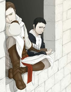 Altaïr & Malik. AltMal. Assassin's Creed
