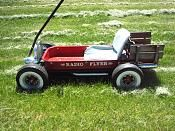 Click image for larger version Name: Views: 702 Size: KB ID: 1014484 Custom Radio Flyer Wagon, Radio Flyer Wagons, Build A Go Kart, Childhood Toys, Childhood Memories, Kids Wagon, Pinstriping Designs, Little Red Wagon, Kids Bicycle
