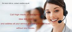 Virgin media phone number - Call Virgin Media customer service on the number 0844 995 1530 and address all your service and billing related issues without any hassles.