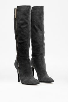 Molly Heeled Long Boot - Shoes - French Connection