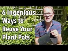 Reusing Plant Pots and Containers (Video) | Old Farmer's Almanac