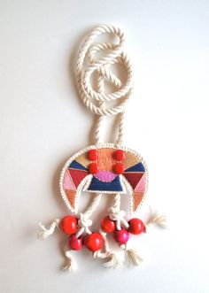 Really awesome Etsy listing at https://www.etsy.com/pt/listing/247049925/fiber-art-necklace-hand-embroidered