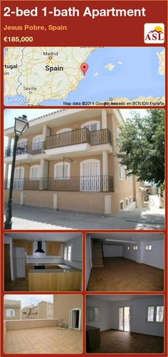 2-bed 1-bath Apartment in Jesus Pobre, Spain ►€185,000 #PropertyForSaleInSpain