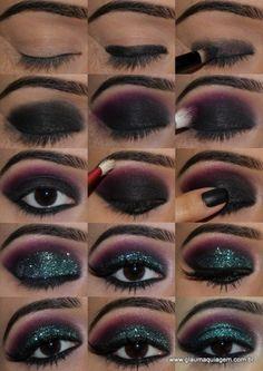 Tutoriais - Maquiagem - Olhos